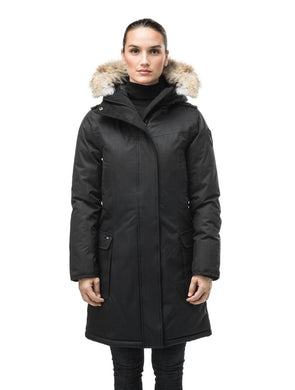 ABBY LADIES THIGH LENGTH PARKA