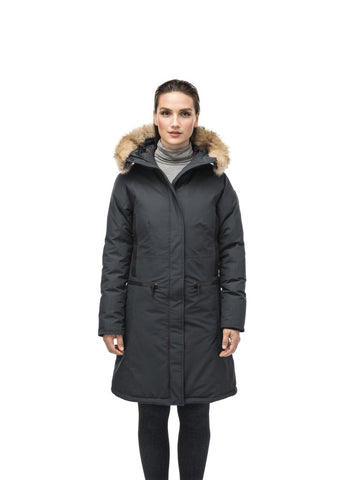 ALISSA LADIES MIDI FITTED PARKA