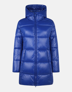 WOMEN'S LUCK MAXI-QUILTED HOODED COAT