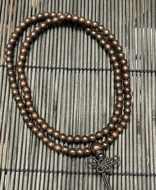 Eaglewood bead necklace