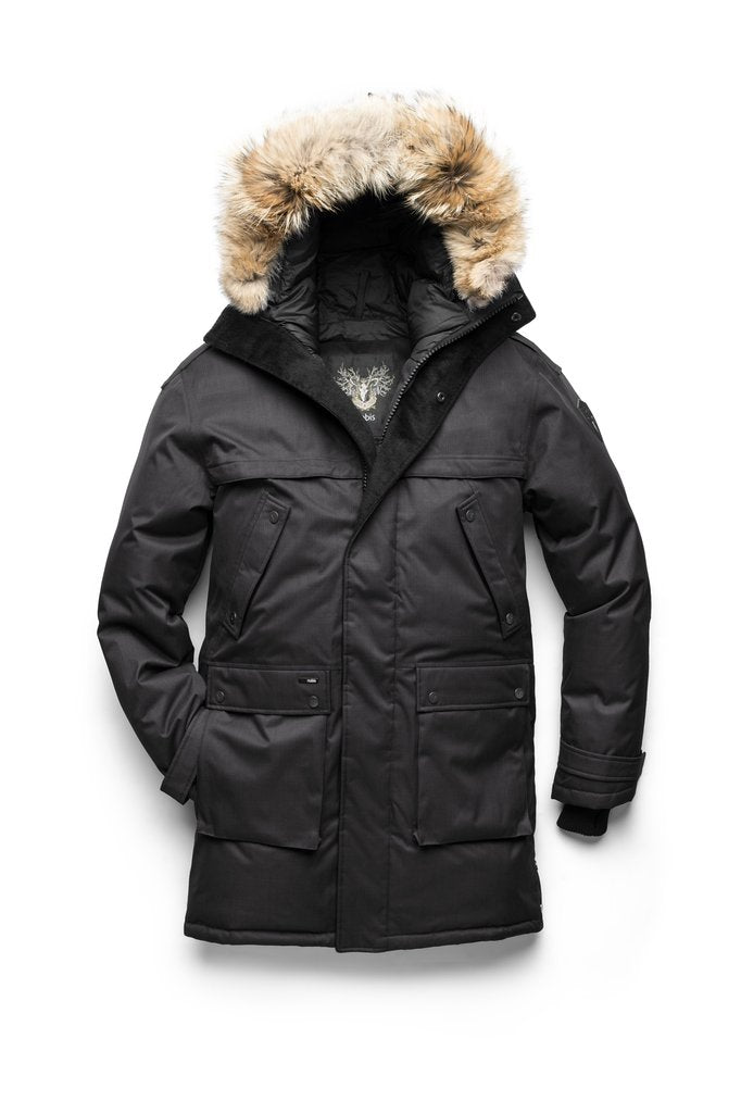 YATESY MEN'S LONG PARKA