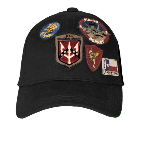 CAP WITH PATCHES