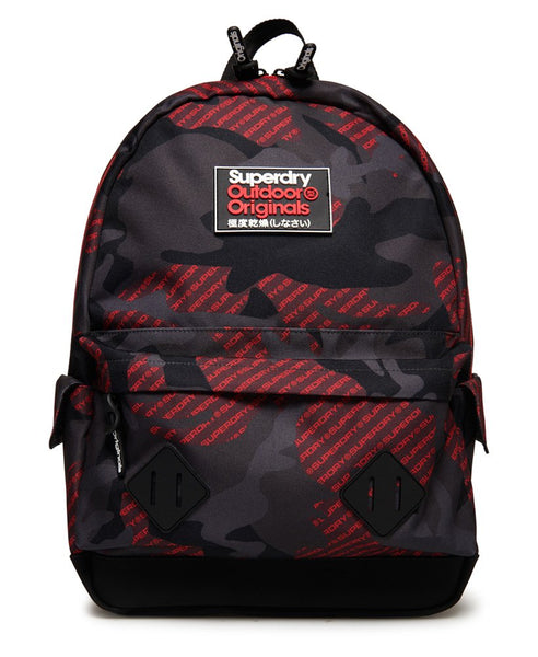 LOGO ALL OVER PRINT MONTANA BACKPACK