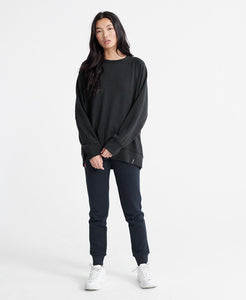 EDIT RAGLAN LOOPBACK SWEATSHIRT