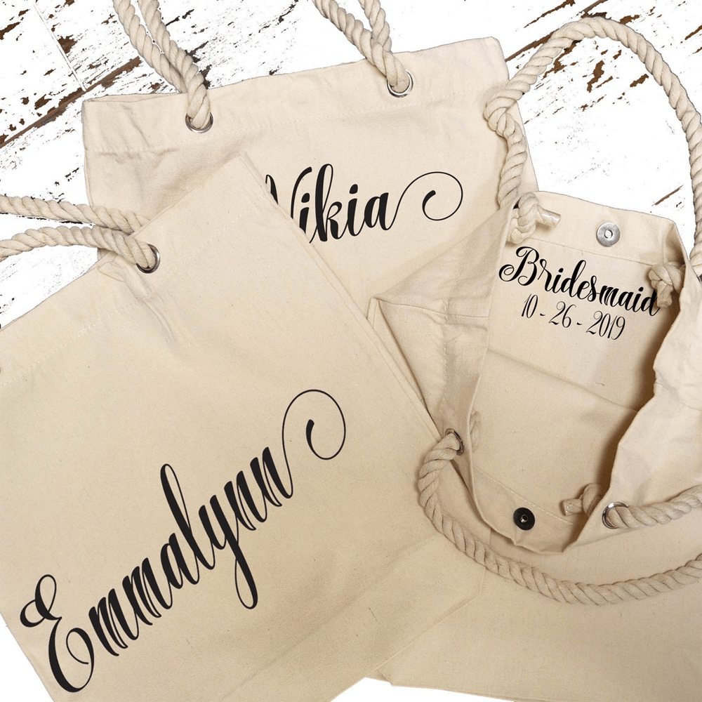 """Be My Bridesmaid"" Totes"