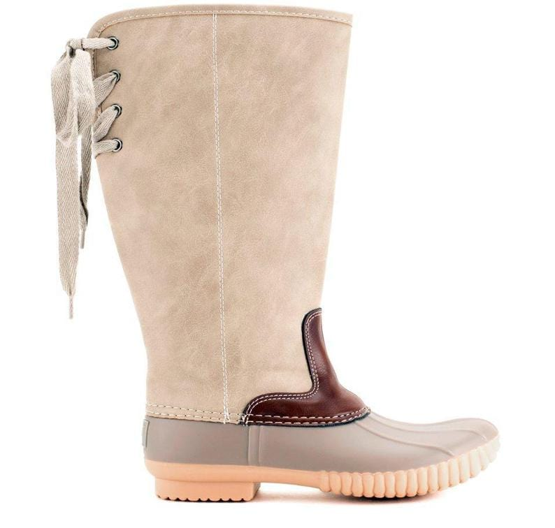aee08d4d5b771 Lace Up Duck Boots