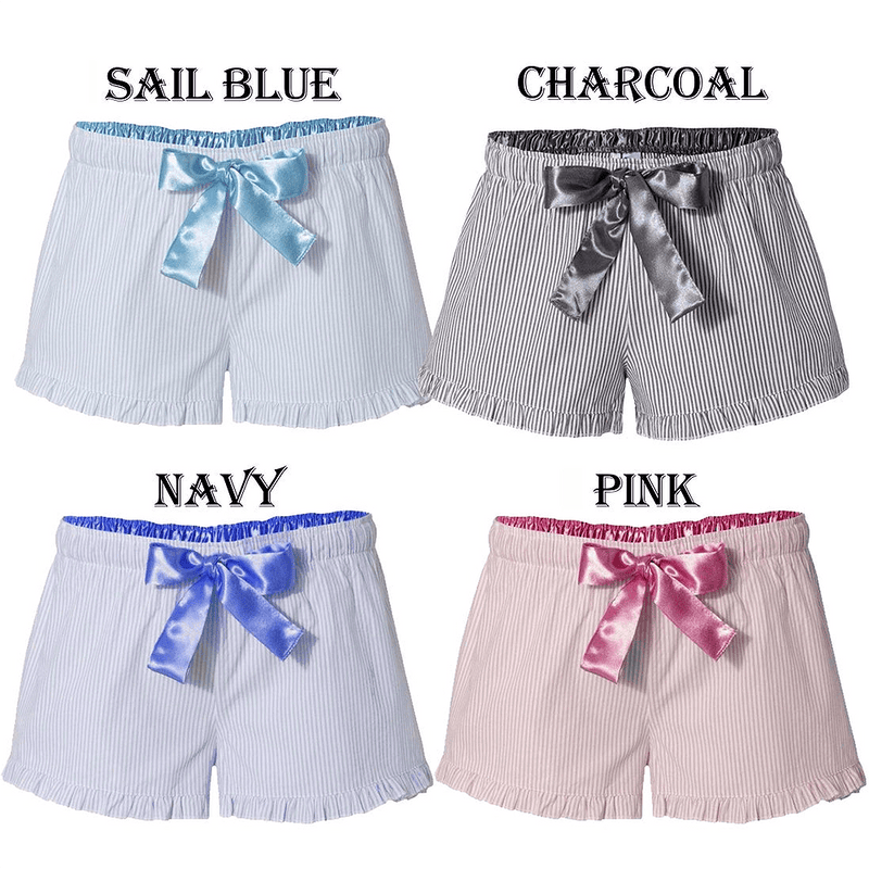 Boxercraft Ruffled Shorts