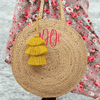 Bee & Willow Jute Circle Tote