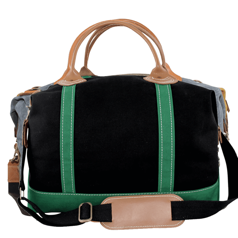 Waxed Canvas Weekender Tote