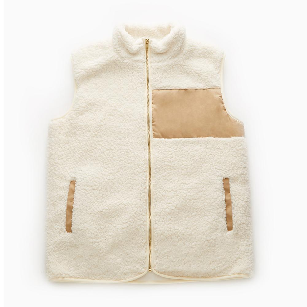Monogram Sherpa Vests