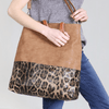 Large Leopard Tote Purse