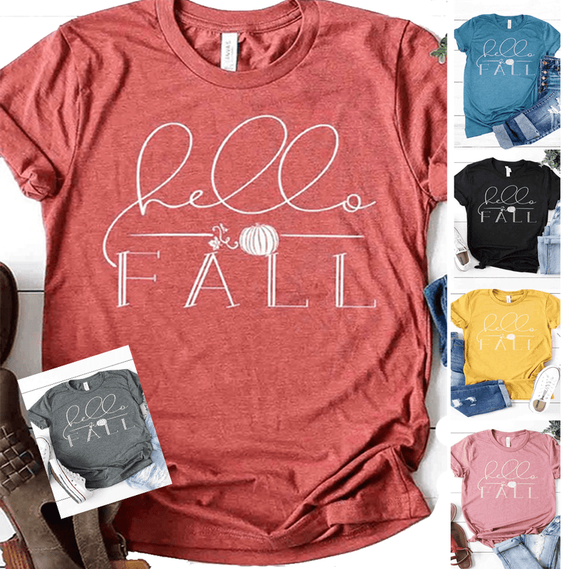 Hello Fall | FALL GRAPHIC