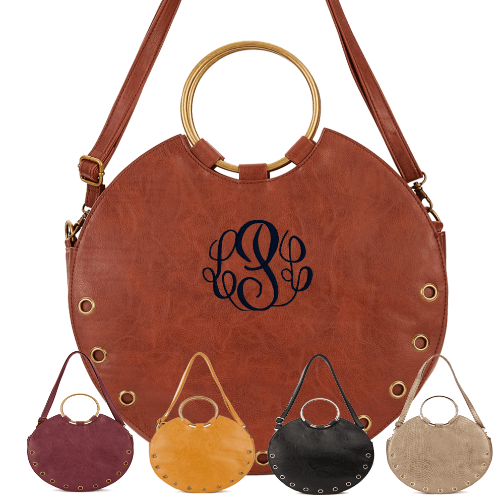Joyce Circle Crossbody Handbags