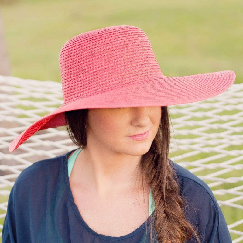 Floppy Hat With Crystal Ribbon