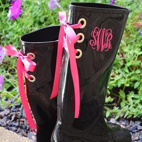 Monogram Rain Boots - 7 Colors