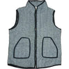 Harringbone Tweed Vest