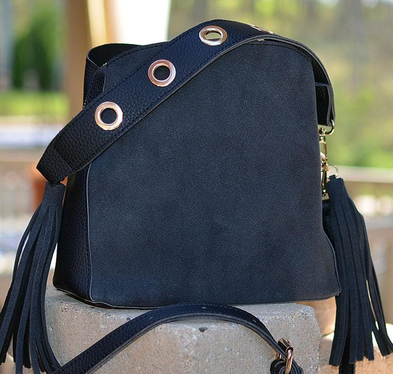 Crossbody Bucket Purse
