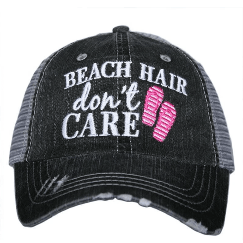"""BEACH HAIR DON'T CARE"" Hat"