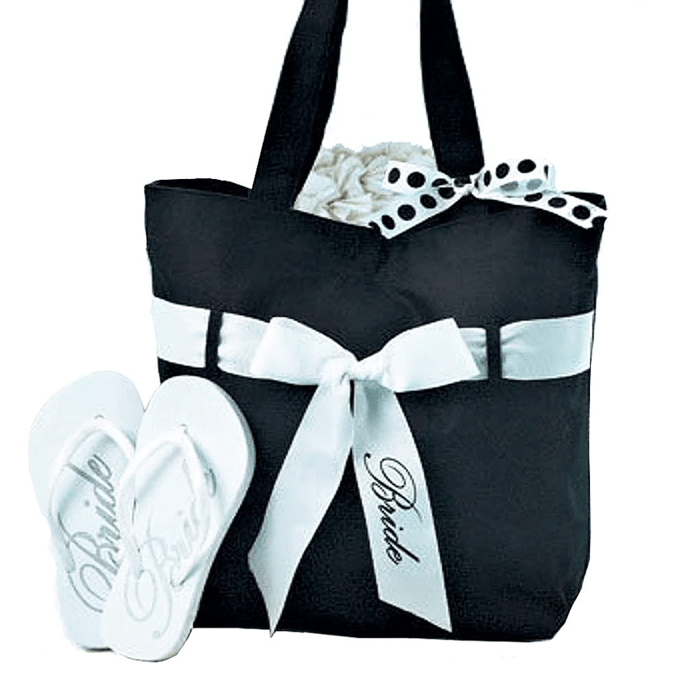 Wedding Tote & Flip Flops