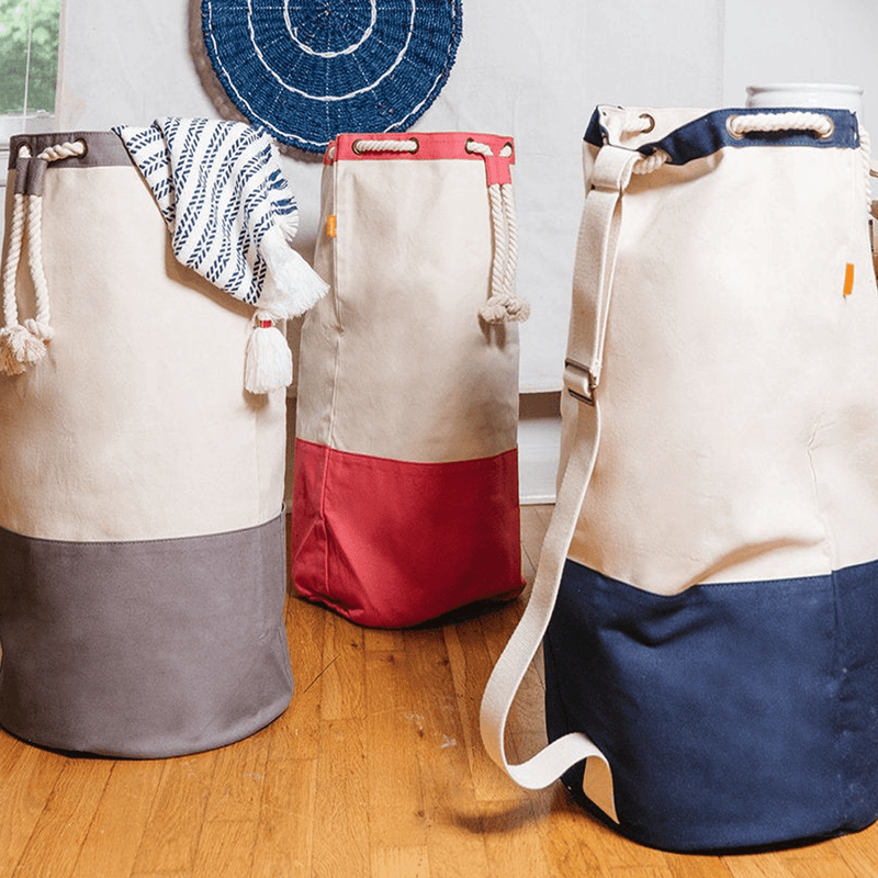Laundry Duffle Tote Bag