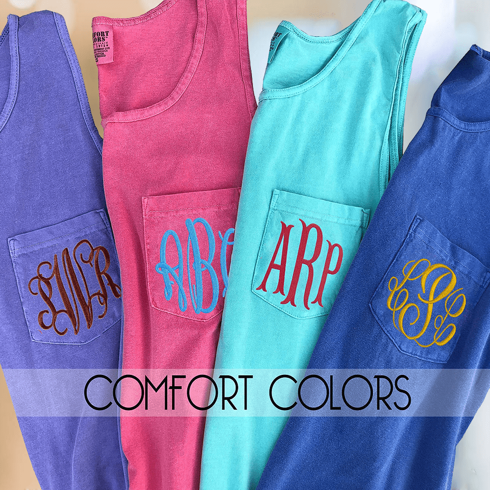 Comfort Colors Pocket Tee's