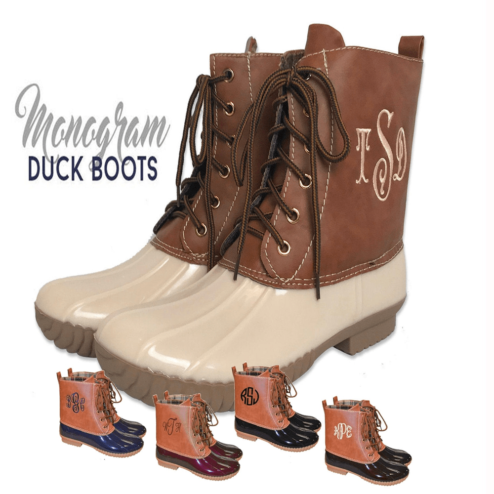 Ankle Duck Boots