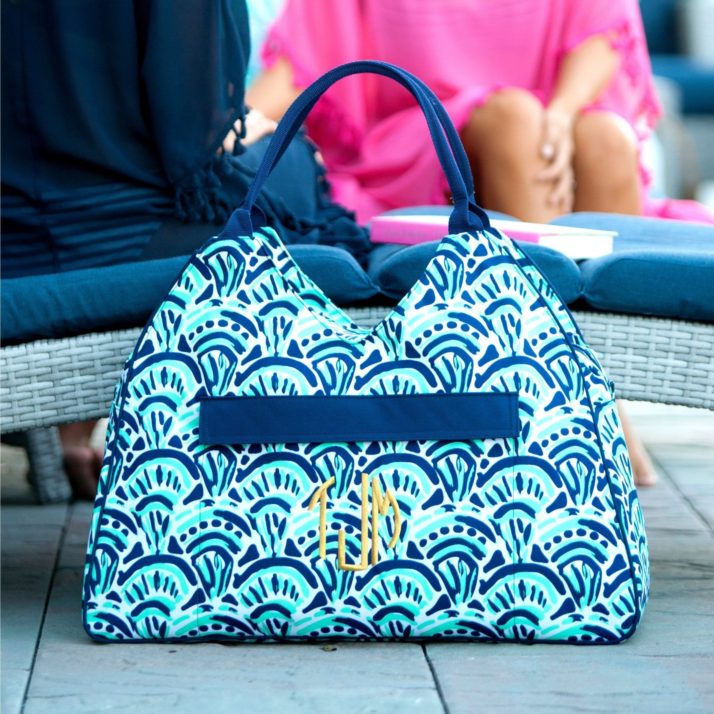 Monogram Beach Bag Tote