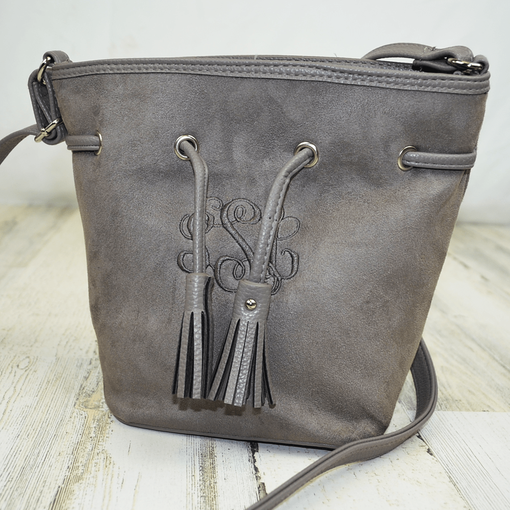Langley Crossbody Bucket Purse
