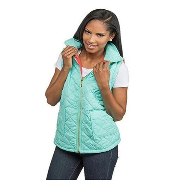 Puffy Quilted Vest