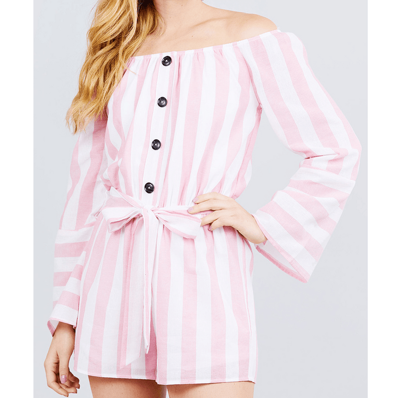Stripe Summer Romper