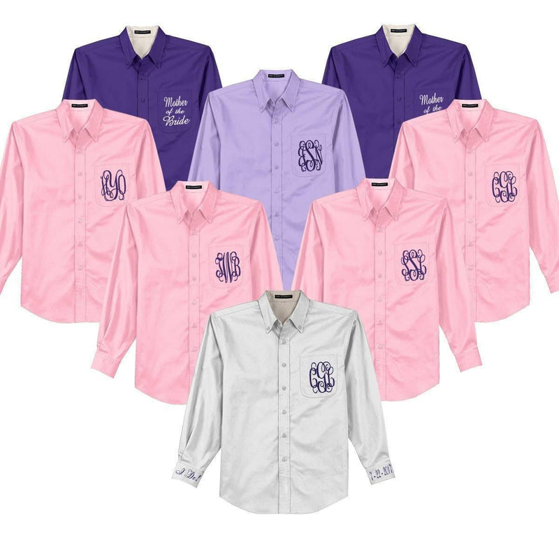 Bride & Bridal Weddng Party Shirts
