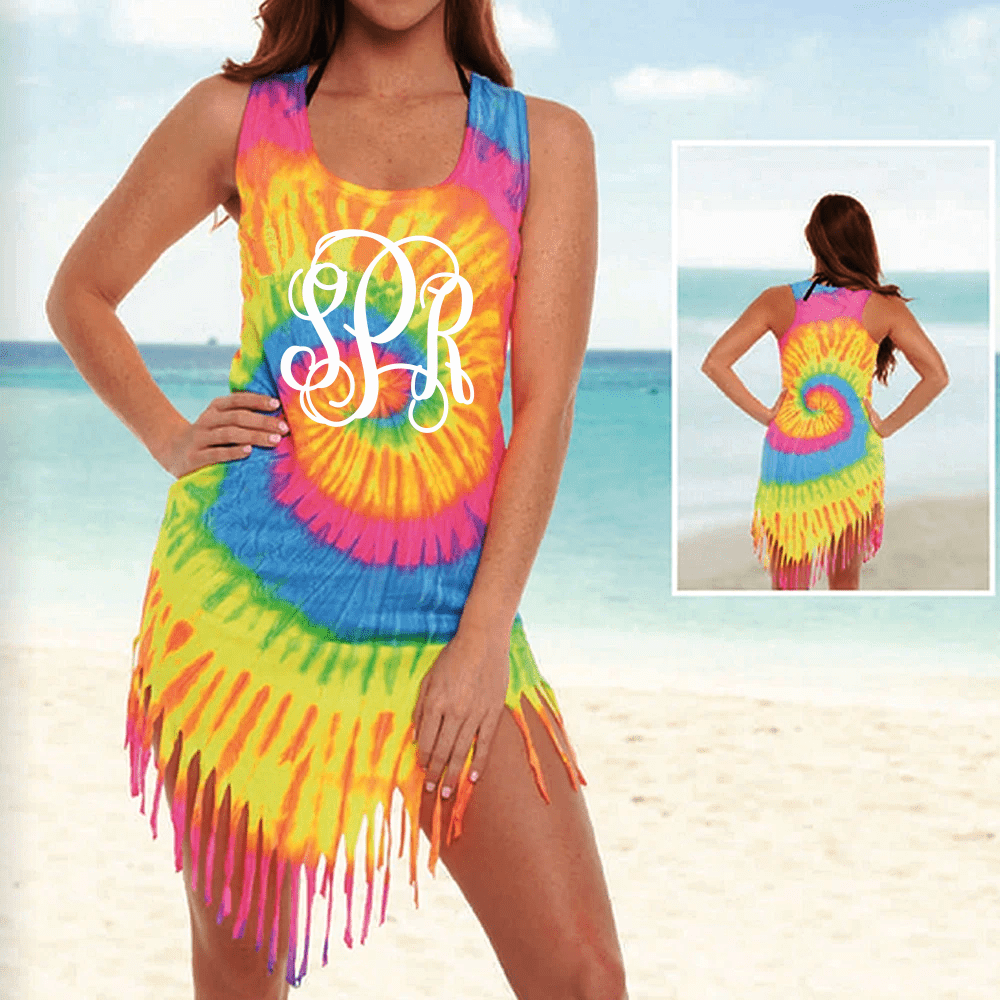 Tie Dye Shirt Cover Up