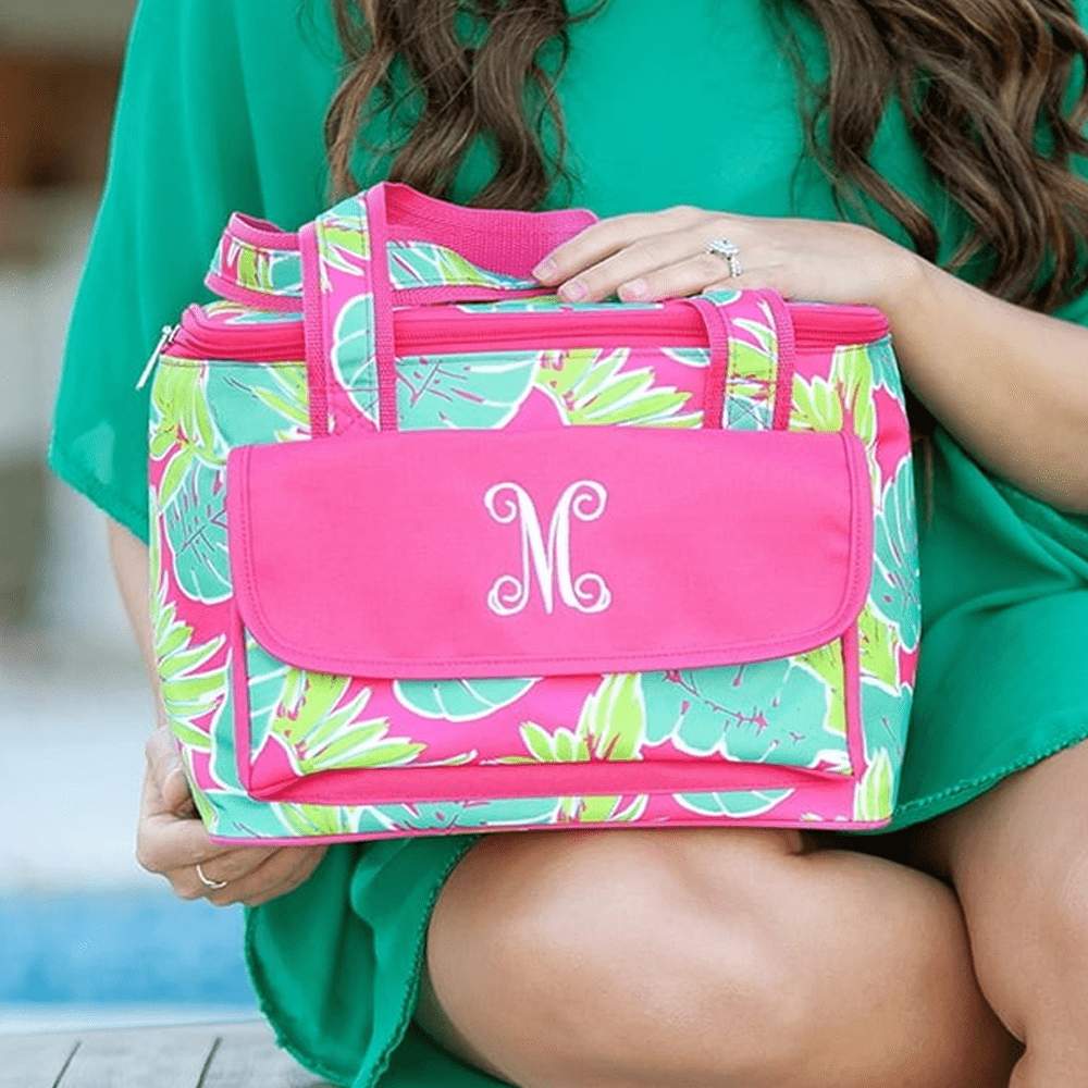 Totally Tropic Insulated Cooler Bag