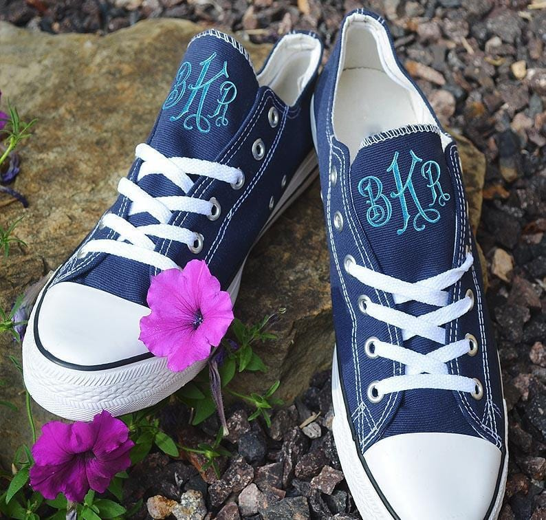 Monogram Tennis Shoes - 9 Colors
