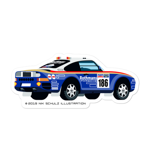 "959 Dakar Sticker, 5.5"" wide"