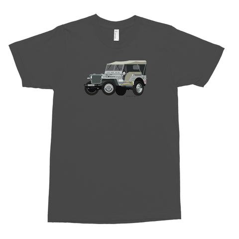 Navy Jeep T-Shirt