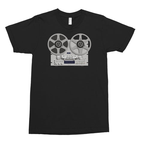 Vintage Reel-to-Reel Men's Tee, Pioneer RT-909