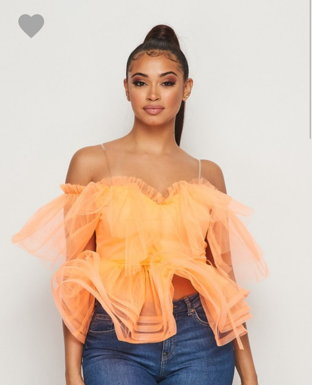 Tulle Time Top