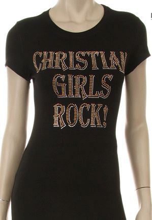 Christian Girls Rock Tee