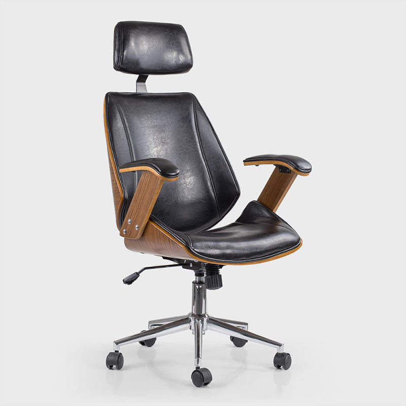 desk chairs oliver walnut black office chair was listed for r2 626