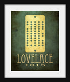 Ada Lovelace Art Print - Mathematics & Computer Science