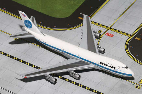 Gemini Pan Am 747-100 Clipper Mermaid #N652PA 1:400
