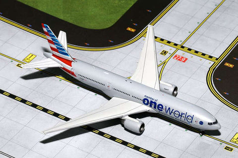 Gemini American 777-200 One World New Livery 1:400