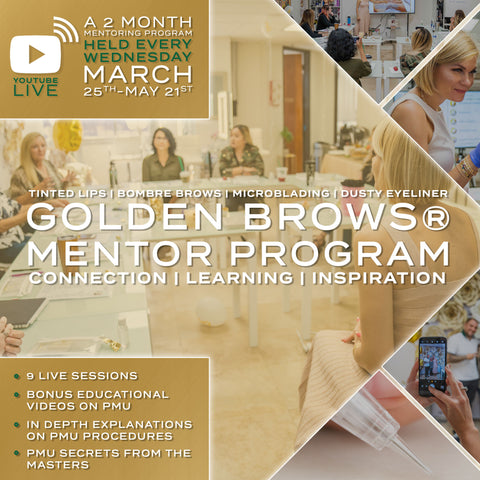 GOLDEN BROWS® Mentor Program