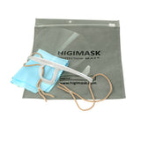 Higi Mask, a protective clear professional mouth mask for use during permanent makeup procedures