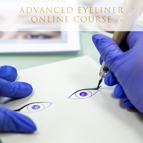Daria Chuprys Permanent Makeup Academy online Dusty Eyeliner permanent makeup course
