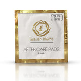 Pack of 25 After Care Pad Packets, contains 4 in each packet. Used for cleaning and calming the skin after procedures