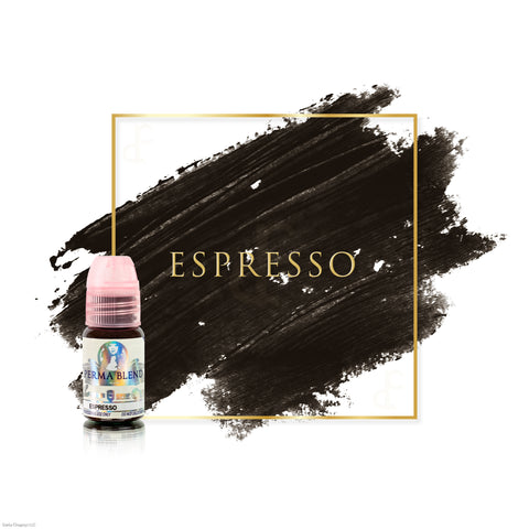 Perma Blend Espresso permanent makeup pigments for brows, great pigments for microblading