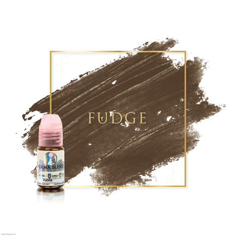 Perma Blend Fudge permanent makeup pigments for brows, great pigments for microblading