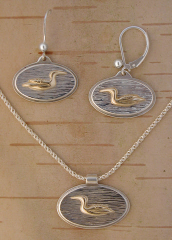 Gold Loon Jewelry Sterling Silver